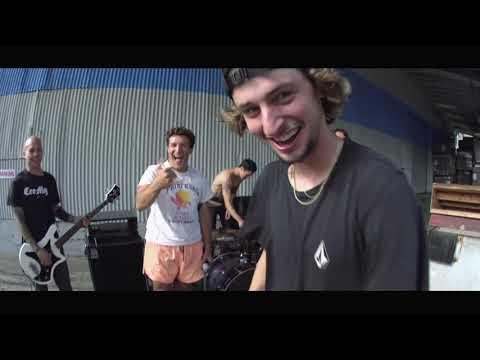 Henry Gartland blasts over hardcore band Drain // Santa Cruz Skateboards