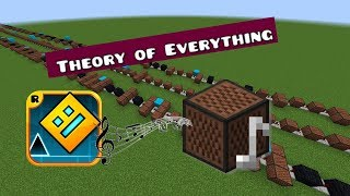 Minecraft: Geometry Dash - Theory Of Everything With Note Blocks