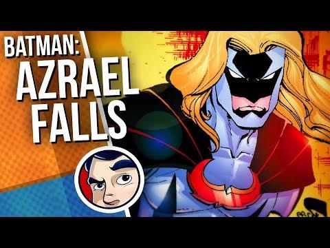 """Batman No Man's Land """"Azrael Falls…"""" – Complete Story   Comicstorian"""