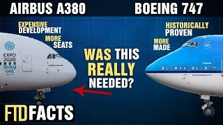 The Differences Between The BOEING 747 And The AIRBUS A380
