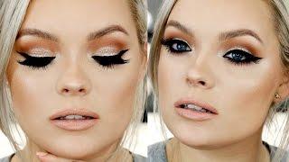 Bronze Glitter Glam Makeup Tutorial