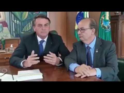Em vídeo, Presidente Jair Messias Bolsonaro confirma presença em motociata em Florianópolis; confira o vídeo