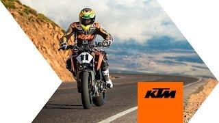 KTM 790 DUKE at PIKES PEAK 2018 | KTM