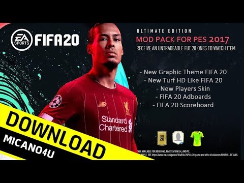 FIFA 20 Mod Pack For PES 2017 - Download (PC/HD)