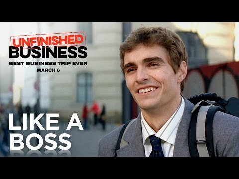 "Unfinished Business | ""Like A Boss"" Official Red Band Trailer [HD] 