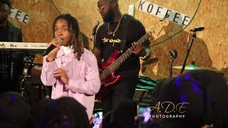 KOFFEE PERFORMS YE BY BURNABOY.