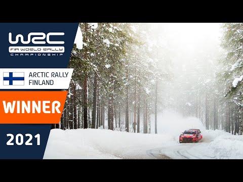 WRC 2021 第2戦のラリーフィンランド パワーステージのハイライト動画
