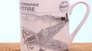 MUGBHY02 - Haynes Heat Changing Mug 'Spitfire'