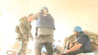 Обстрел пикапов с прессой в Сирии: жизни журналистов вне опасности