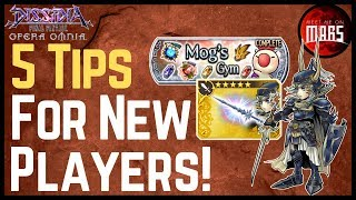 5 Tips For New Players! | How to Get Started in DFFOO | Dissidia Final Fantasy Opera Omnia #ad