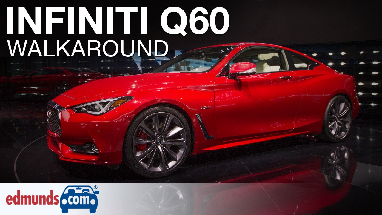 Used 2017 Infiniti Q60 Coupe Red Sport 400