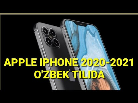 APPLE IPHONE 2020-2021 -O'ZBEK TILIDA !!!