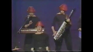 Devo Whip It/Interview/Snowball Merv Griffin Show 1980