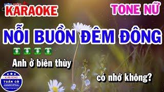 karaoke-noi-buon-dem-dong-tone-nu-am-nhac-song-tuan-co