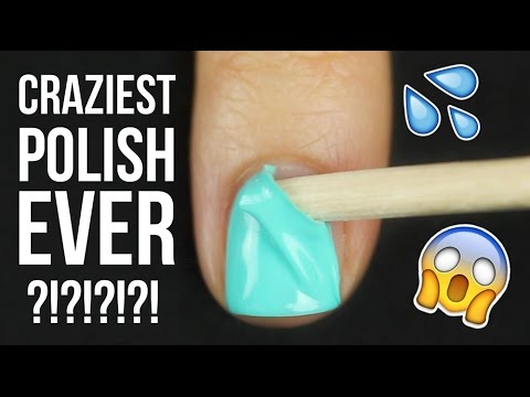 Trying WATER BASED Nail Polish?! || KELLI MARISSA