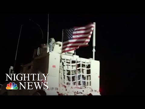 Trump: Immediate Cease-Fire After TR Forces Move Deeper Into Kurdish Enclaves | NBC Nightly News