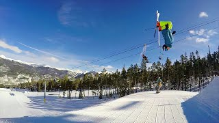 GoPro Ski Edit - Freestyle Skiing in Slow Motion (Keystone)