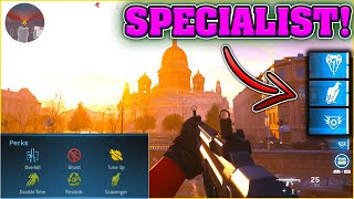 MODERN WARFARE 'SPECIALIST' LOADOUT EXPLAINED! - GET 6 PERKS IN MULTIPLAYER MW SPECIALIST TUTORIAL!