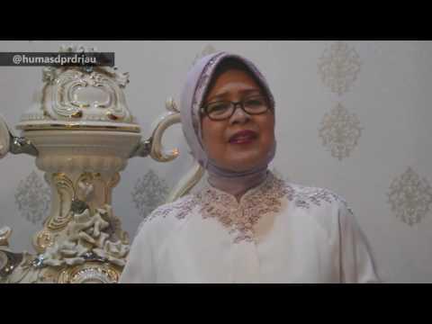 Lebaran, Pimpinan DPRD Riau Berdendang