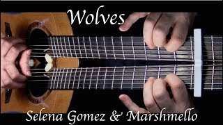Gambar cover Kelly Valleau - Wolves (Selena Gomez, Marshmello) - Fingerstyle Guitar