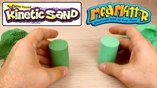 Сравниваю Кинетический песок и  MadMattr. Какой же круче?
