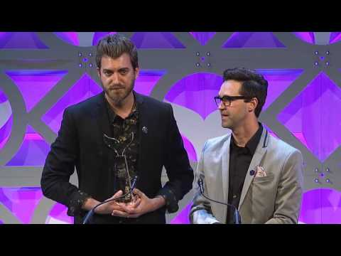 Rhett & Link of Good Mythical Morning accept Best Web Series
