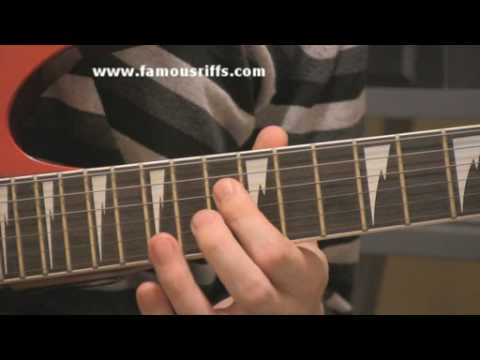 Learn Electric Guitar Lessons - How to play The Godfather - Easy Guitar Riffs