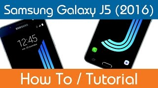 How To Use The Voice Recorder App - Samsung Galaxy J5