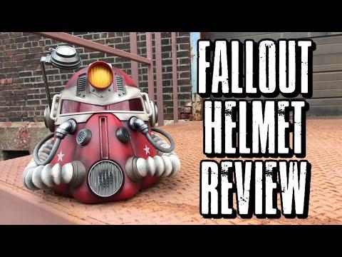 Unboxing! Fallout T-51B Nuka Cola Edition helmet!