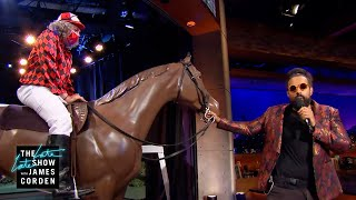 Reggie Sings About Our Jockey Boss & His Horse