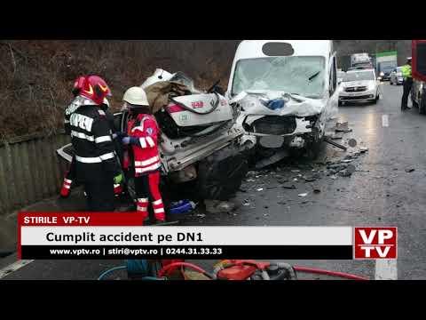 Cumplit accident pe DN1