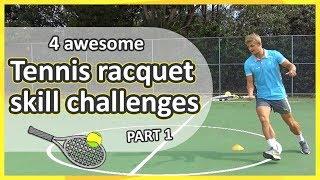 Tennis ball-handling challenges: Part 1 (grades K-3)   Teaching Fundamentals of PE