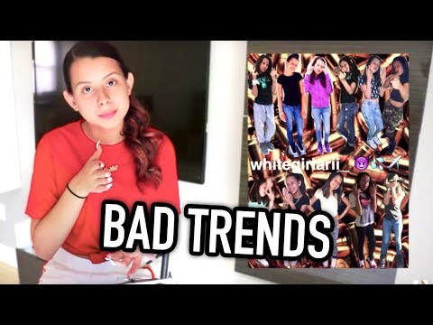 BAD TRENDS I WENT THROUGH