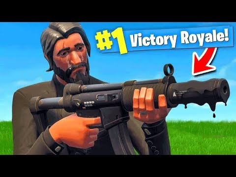 Using *ONLY* The Worst Gun To WIN In Fortnite Battle Royale!