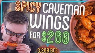 HOTTEST Chicken Wing Recipe Using ONLY Primitive Technology