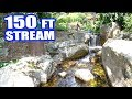 Download Video EPIC 150-FOOT STREAM AND WATERFALL: Greg Wittstock, The Pond Guy
