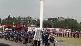 Marching Band Gita Pakuan Mainkan `24K Magic` Bruno Mars