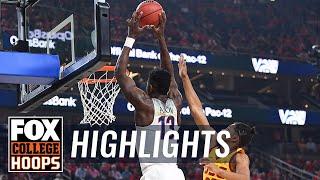 Arizona vs USC   2018 Pac-12 Tournament   Highlights   FOX COLLEGE HOOPS