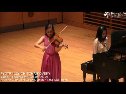 Check out my performance of Tchaikovsky's Valse-Scherzo!
