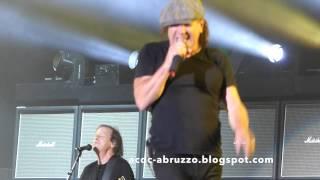 AC/DC Baptism by Fire Live at Coachella 17 April 2015
