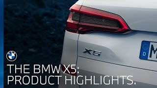 The new BMW X5 | Product highlights.