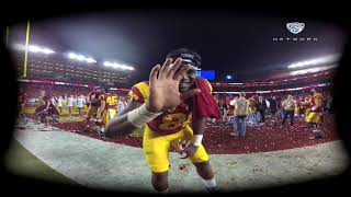 Experience the 2017 Pac-12 Football Championship Game celebration with USC football in VR180