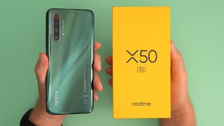 Realme X50 5G Unboxing! 120hz + SD765G For 299 GBP