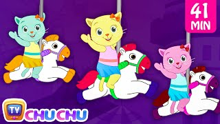 Three Little Kittens Went To The Theme Park - Nursery Rhymes by Cutians | ChuChu TV Kids Songs