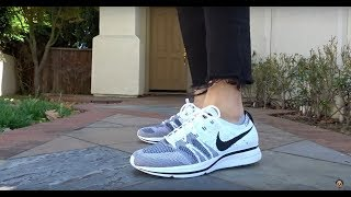 696ec45f51621 Unboxing  Sunset Tint + White Flyknit Trainers! Realest On Foot On Youtube!