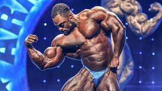 Brandon Curry's Posing for the win of the 2019 Arnold Classic Bodybuilding