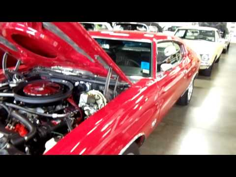 1970 Chevrolet Chevelle SS 454 Big-Block Cowl Quick Look
