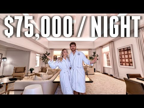STAYING at THE MOST EXPENSIVE  Hotel Room in NYC
