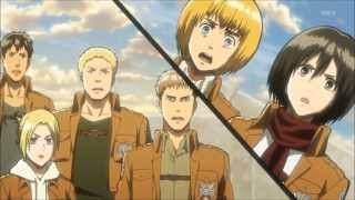 Shingeki no Kyojin AMV - 3 Inches Of Blood - Storming Juno