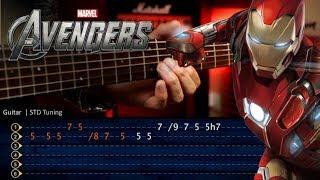Avengers Endgame Guitar Tutorial TABS  | Christianvib Cover Guitarra